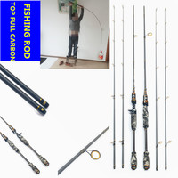 Full Carbon Fishing Rod Lure Fishing Casting Rod Fly Fish Rods Canne Peche Pesca fish takcle Olta fit for shimano reel daiwa D41
