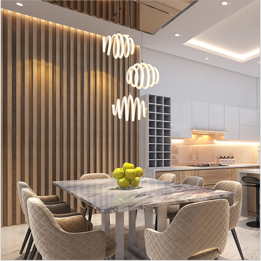 Dining Room Ceiling Light Fixtures: Chandelier Acrylic Modern Led Ceiling Lights For Living