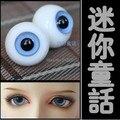 Стеклянные Глаза 12 мм, 14 мм, 16 мм, 18 мм, 20 мм Прозрачный Синий Для BJD Куклы 1/3 1/4 1/6 SD MSD YOSD 1 Пара GA3
