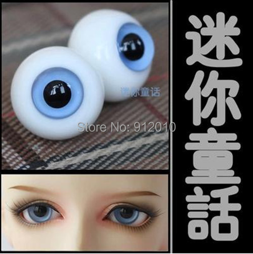 A Glass Eyes 12mm,14mm,16mm,18mm,20mm Clear Blue For BJD Doll 1/3 1/4 1/6 SD MSD YOSD 1 Pair GA3 abbyfrank 1 pair acrylic eyes for toy sd bjd eye doll cartoon 14mm 16mm 18mm 1 3 1 4 1 6 for bjd doll accessories anime for doll