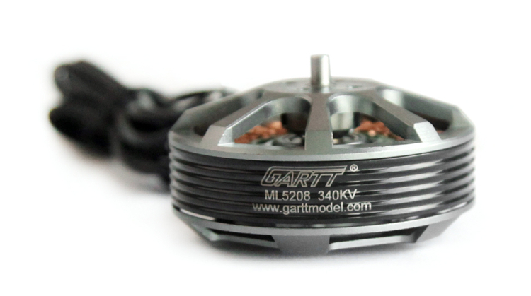 GARTT ML 5208 340KV Brushless Motor For Multicopter Quadcopter Hexacopter RC Drone ormino rc quadcopter motor ml 5208 340kv brushless motor 1555 1755 propeller camera drone kit tarot t960 multicopter hexacopter
