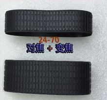 2 Pieces a set Lens Zoom Focus Grip Rubber Ring For Nikon NIKKOR 24 70MM 24