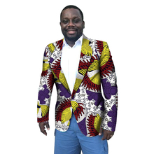 Men Blazers Africa Style Fashion Dashiki Print Suit Jacket African Festive Man Blazer For Costume Africa men Clothing Customize