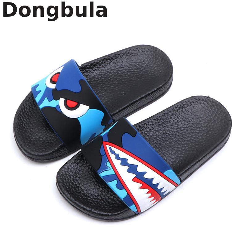 New Summer Childrens Slippers For Boys Girls Sandals Cartoon Shark Kids Flip Flop Home Bath Shoes Baby Casual Flat Beach ShoesNew Summer Childrens Slippers For Boys Girls Sandals Cartoon Shark Kids Flip Flop Home Bath Shoes Baby Casual Flat Beach Shoes