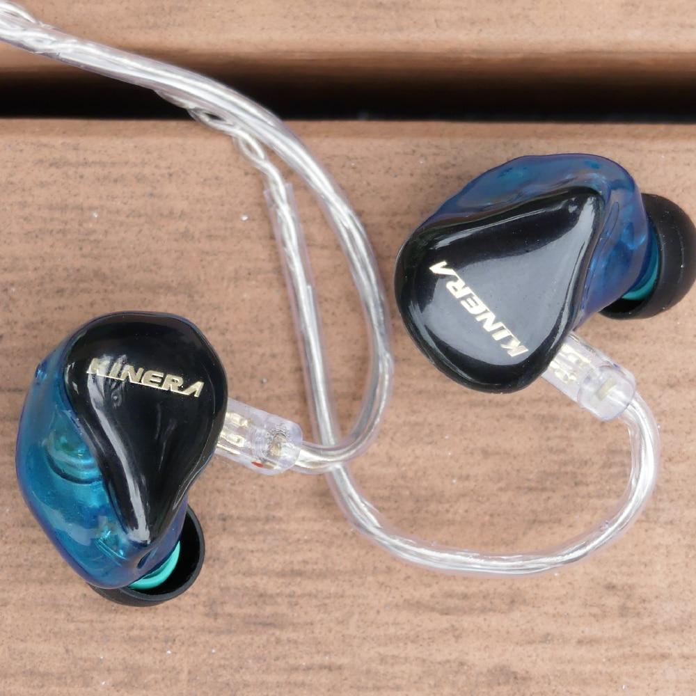 bilder für Neue KINERA H3 In Ohr Kopfhörer Dynamik Mit 2BA Hybrid 3 Einheit HIFI Kopfhörer Ohrhörer Headset Monitor Kopfhörer Mit MMCX kabel
