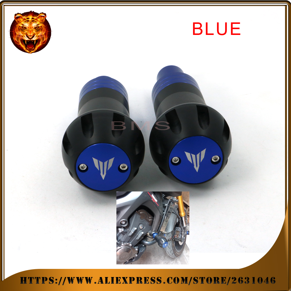 Motorcycle Body Frame Sliders Crash Protector Falling Protection For YAMAHA MT-09 FZ-09 FJ-09 MT09 Tracer 14 15 16 Free shipping