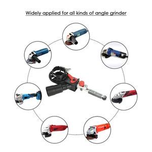 """Image 4 - Angle Grinder Mini DIY Sander Sanding Belt Adapter Grinding Machine Bandfile Belt Head Sander for 115mm 4.5"""" and 125mm 5"""""""
