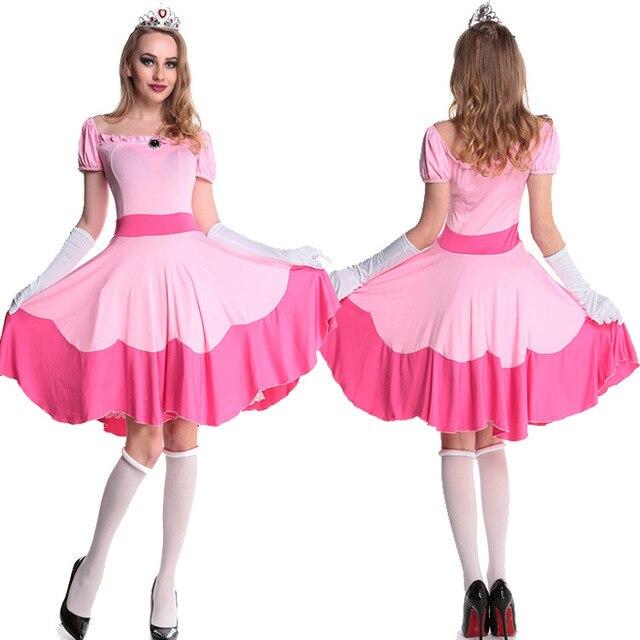 Rosa traje de mucama disfraces sexy vestido vendedor caliente de ...