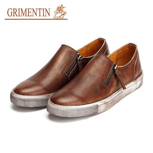 les hommes d'été casual chaussures en cuir de m... 53EC8KjA
