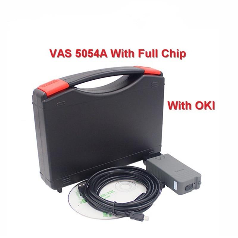 ODIS V3.0.3 With Keygen VAS 5054A OKI Chip VAS5054A Bluetooth Support UDS VAS 5054 Full Chip VAS5054 Diagnostic Tool For VW best quality vas 5054a full chip odis v2 2 4 with oki uds vas5054a vas5054 bluetooth diagnostic tool for vw audi seat skoda