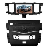 Free shipping Elanmey android 8.1 car DVD multimedia for Nissan Patrol 2015 gps navigation stereo tape recorder autoradio player