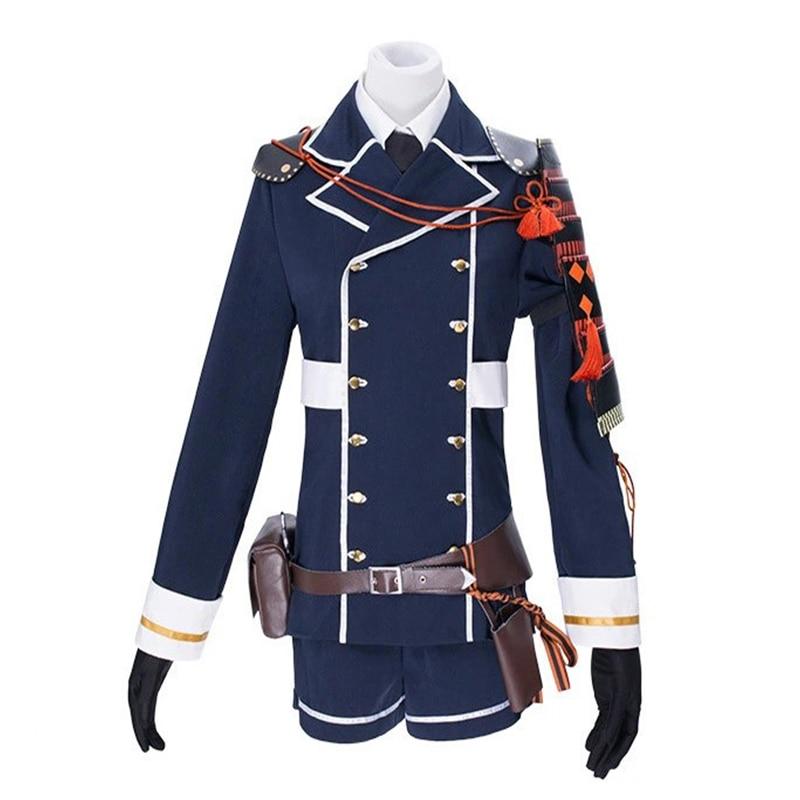 Touken Ranbu Yagen Toushirou Uniform Outfit Anime Costumes Full Set New Version Halloween Cosplay Costume