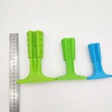 Dog Toys Brushing Stick Dog Brush Effective Toothbrush for Dogs Pets Oral Care Dog Brushing Stick