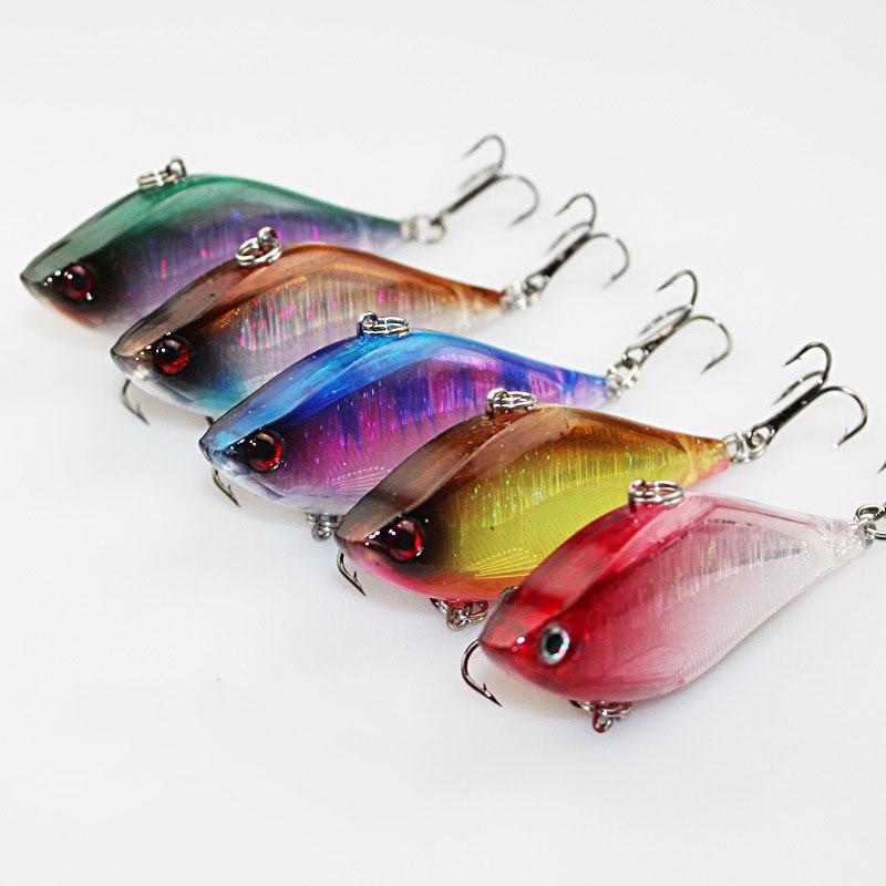 5PCS/<font><b>Lot</b></font> Top Quality Fishing Lure Sinking <font><b>VIB</b></font> Lure 13.5g 6cm <font><b>Vibration</b></font> Vibe Rattle <font><b>Hooks</b></font> <font><b>Baits</b></font> Crankbaits 5 Colors