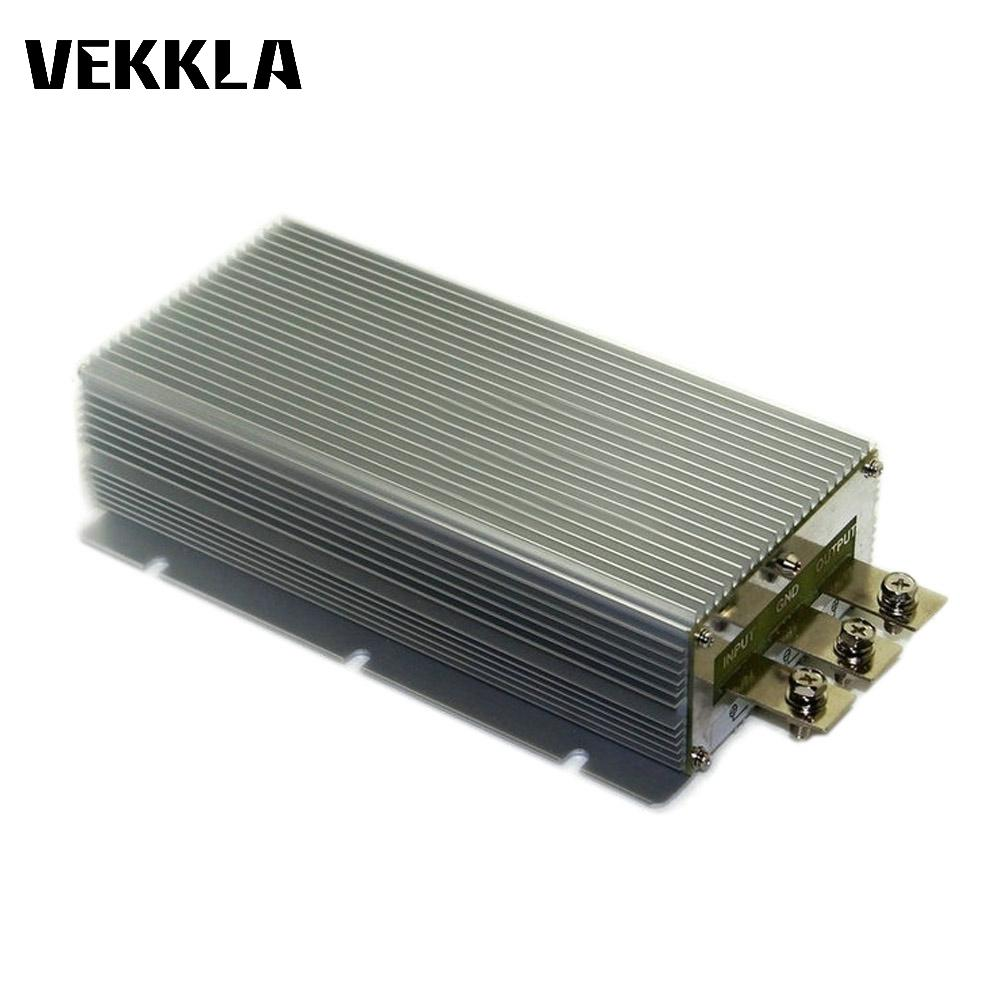 Hot DC <font><b>12V</b></font> Boost <font><b>to</b></font> DC <font><b>24V</b></font> 25A 30A <font><b>40A</b></font> Power Supply Converter Module Waterproof Output short circuit protection aluminum D4 image
