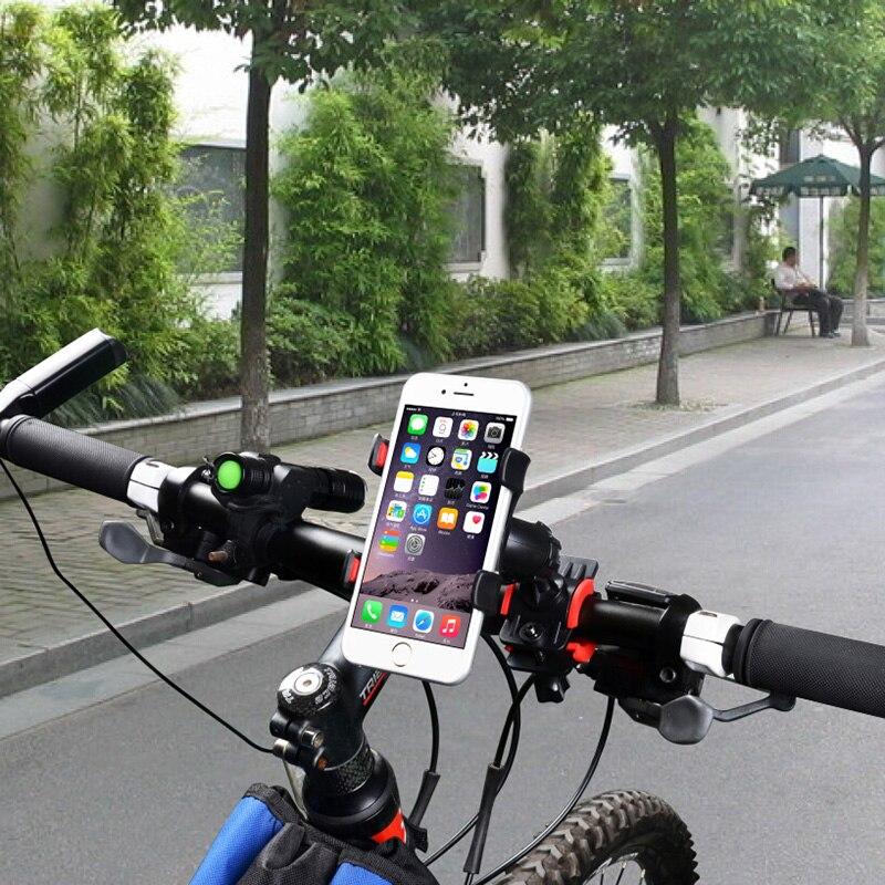 Motorcycle Bicycle Mtb Bike Handlebar Universal Mobile Cell Phone