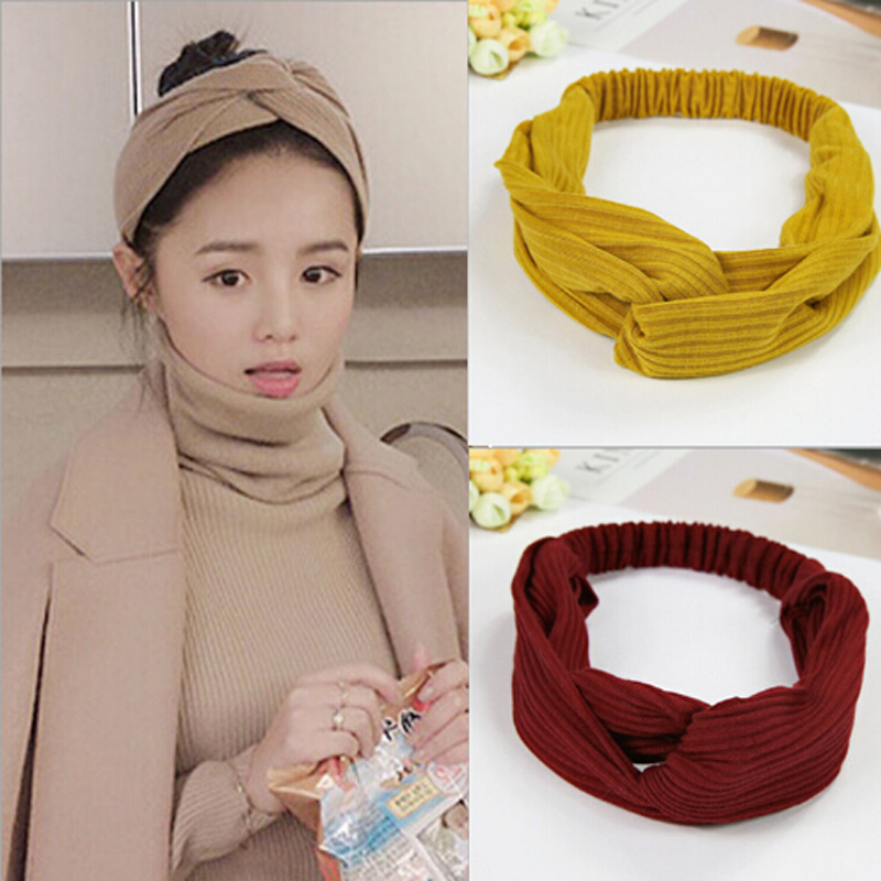 TWDVS Women   Headwear   Turban Headband Floral Patterns Bandanas Elastic Hair Bands Gum Hair for Girls Hair Accessories