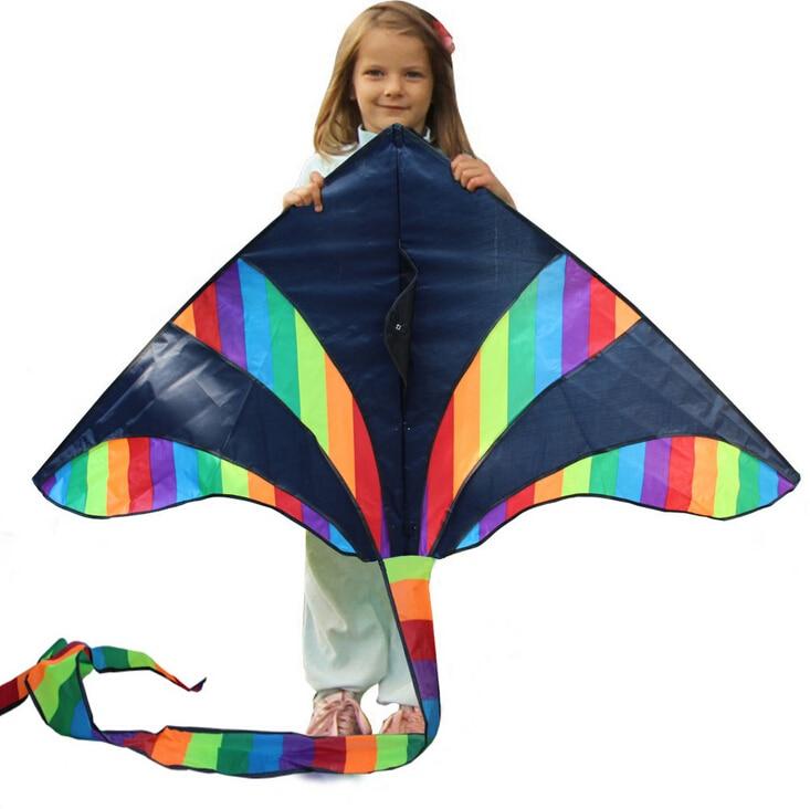 Profesionalni visokokakovostni športni kartonski zmaji na prostem 1,5 m / otroški zmaji / z ročajem in vrvico dobro letenje
