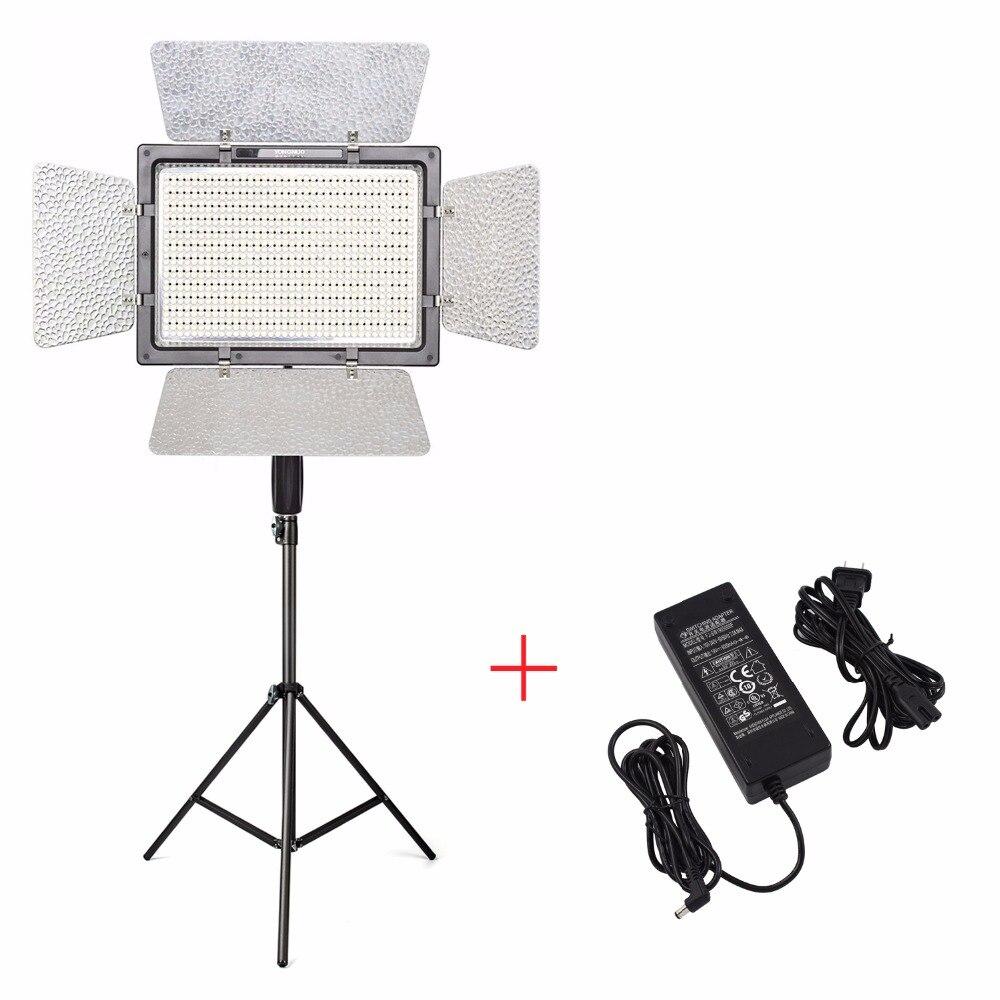 YONGNUO YN900 Pro LED lampe de lumière vidéo 5500 K + chargeur + 2 M support de lumière, caméra caméscope APP contrôle 900 LED lumière vidéo
