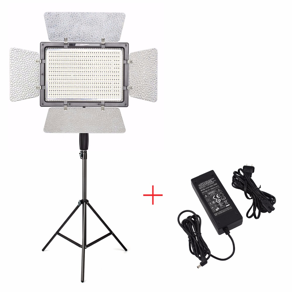 YONGNUO YN900 Pro LED Video Light Lamp 5500K+Charger+2M light Stand,Camera Camcorder APP Control 900 LED Video Light стоимость