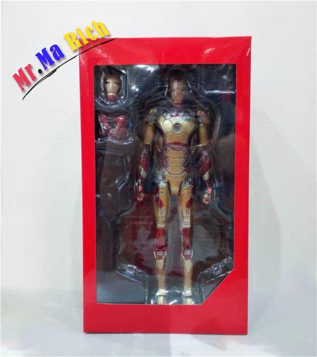 Hc Avengers 2 Alltronic Era Iron Man Mk42 Chest Light Movable Hand Action Figure