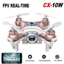 New Cheerson CX 10W Mini Wifi 2 4G HD Camera FPV Camera 4CH RC Quadcopter Transmission
