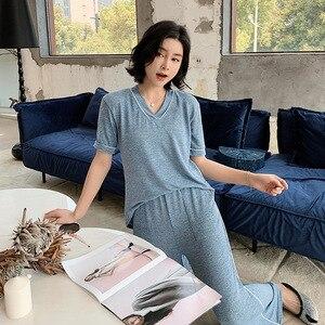 Image 2 - Nouveau, vêtement ample grande taille, deux pièces, été 19 ans, nouveau, pour la maison