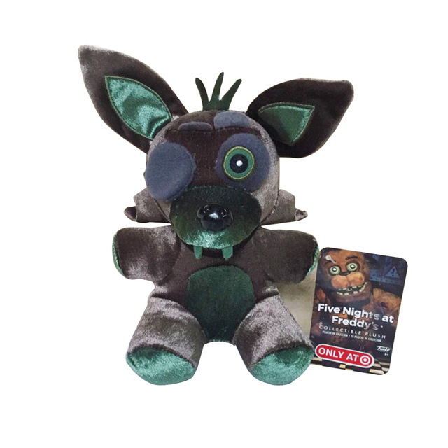 New Style 18cm FNAF Five Nights at Freddy s Fox Foxy Plush Toys Soft     New Style 18cm FNAF Five Nights at Freddy s Fox Foxy Plush Toys Soft  Animals Stuffed Toys Doll for Kids Children Gifts in Movies   TV from Toys    Hobbies on