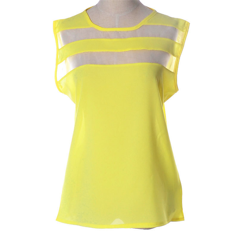 Womens Yellow Tops Blouses Re Re - Womens Yellow Tops Blouses
