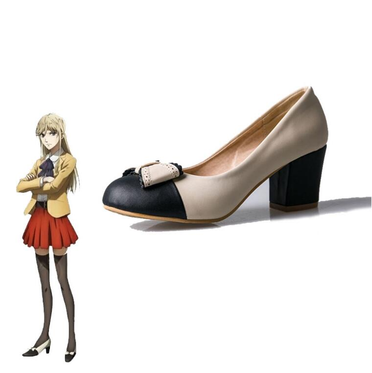 Hakata Tonkotsu Ramens Cosplay Shoes Killer Lin XianMing Rin Shenmin Women Girls Heels Lolita Cosplay