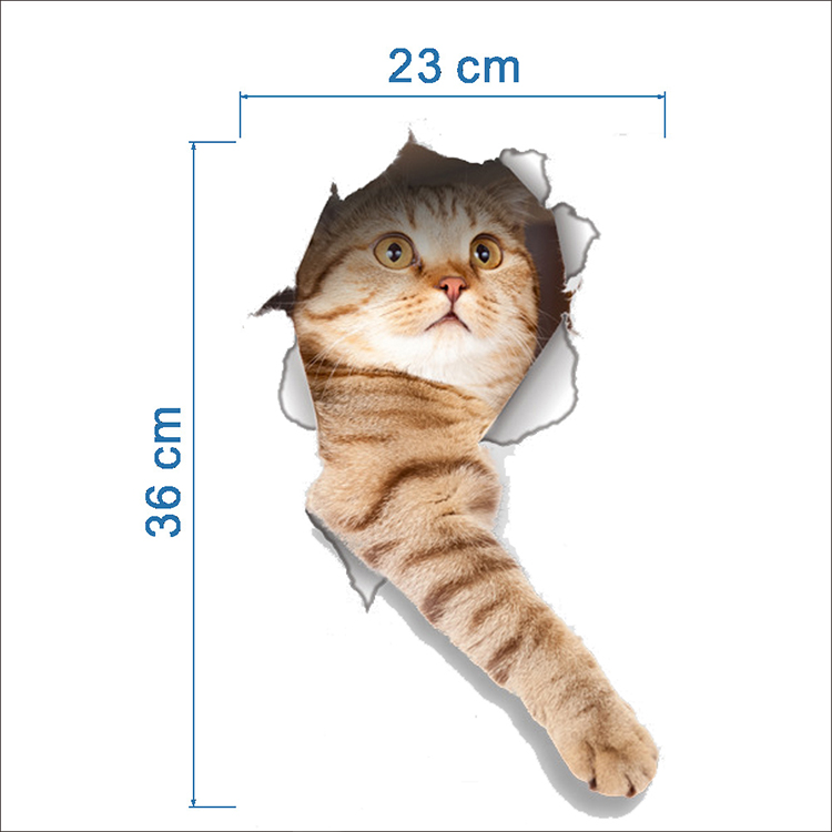 Cats 3D Wall Sticker Toilet Stickers Hole View Vivid Dogs Bathroom Cats 3D Wall Sticker Toilet Stickers Hole View Vivid Dogs Bathroom HTB1zjXDQFXXXXXuXFXXq6xXFXXXC