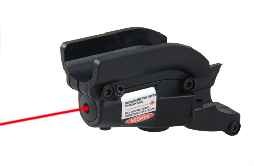 PPT Black Tan Tactical Red Laser Sight for M92 with Lateral Grooves For Beretta Model 92 96 M9 GZ200020