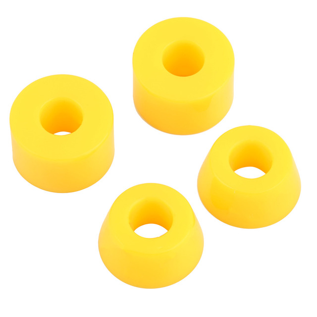 Wheels Bearing Bushed Spacers  4pcs 55D Hard PU Bushings Shockproof For Skateboard Parts Outdoor Sports free shipping