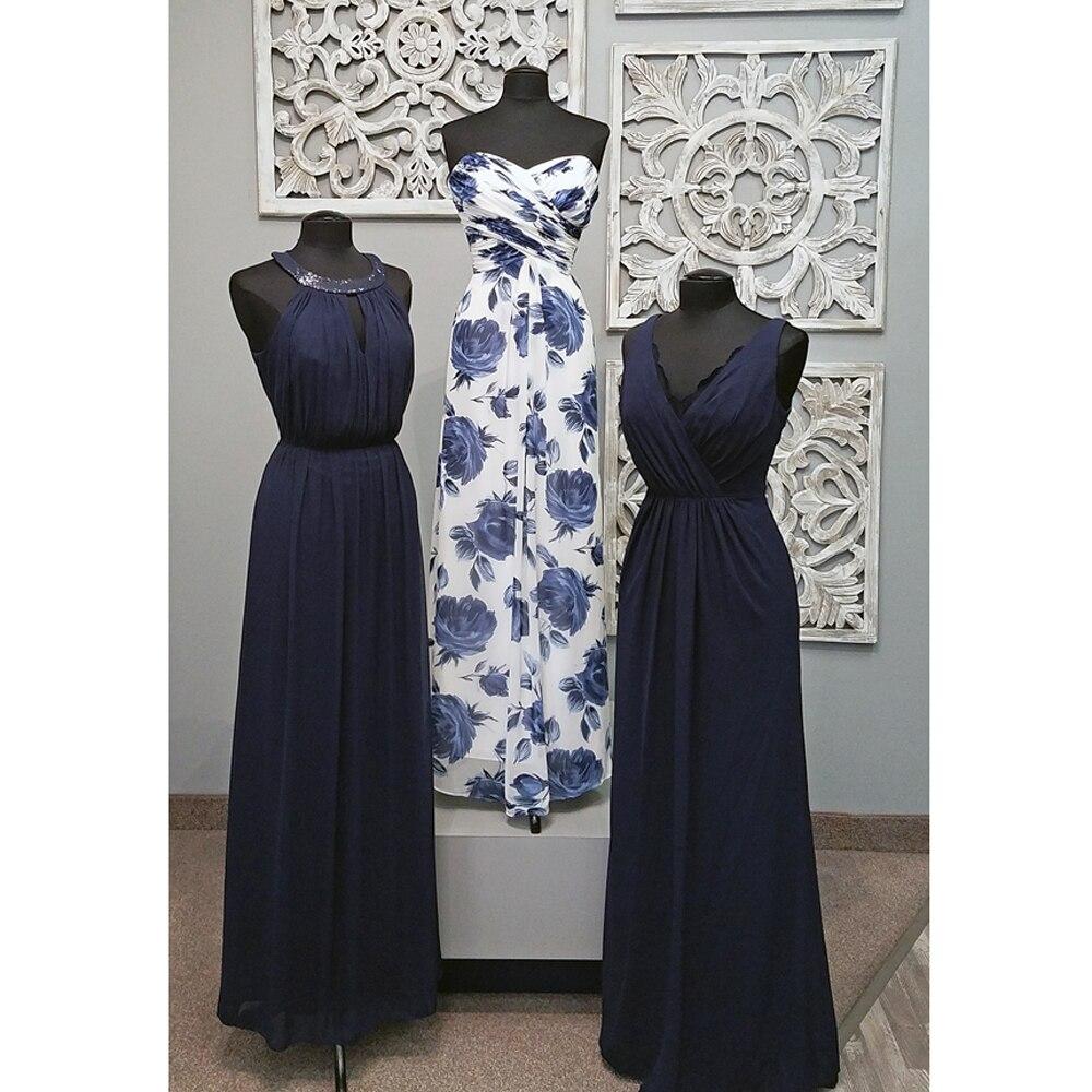 New 2018 Off shoulder   Bridesmaid     Dresses   with 2 design Pleat Chiffon Wedding Party   Dress   vestido de festa Women   bridesmaid     dress