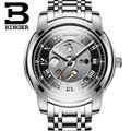 Швейцария часы мужчины люксовый бренд Наручные часы Механические наручные часы водонепроницаемый полный часы из нержавеющей стали B1159G