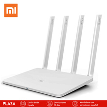 Оригинал xiaomi английская версия маршрутизатор 3 1167 мбит wi-fi ретранслятор 2.4 г/5 ГГц 128 МБ dual band app контроль беспроводные маршрутизаторы