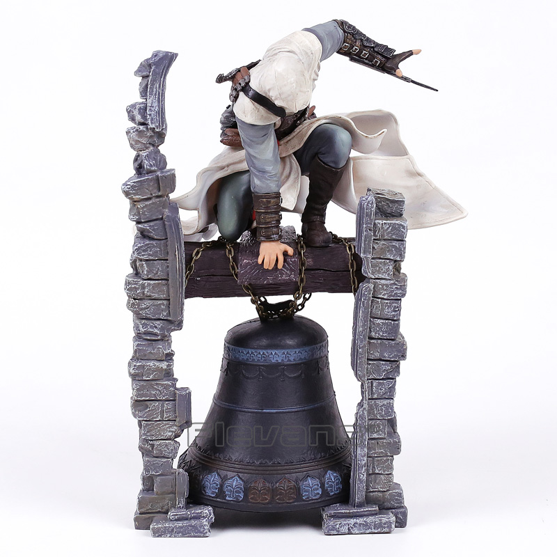 Assassin's Creed ALTAIR The Legendary Assassin Statue PVC Figure Collectible Model Toy assassin s creed action figures edward altair the legendary assassin bell tower 280mm anime game collectible model toy