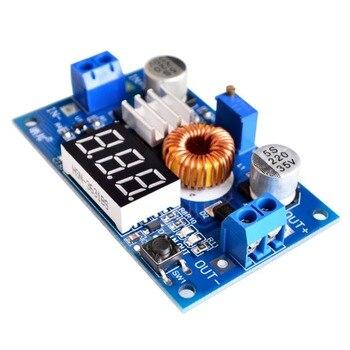 1 Uds XL4015 5A alta potencia 5A 75W MÓDULO DE DC-DC ajustable reductor voltaje convertidor fuente de alimentación módulo LED controlador DIY Kit
