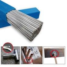20pcs/set 1.6/2mm*500mm Low Temperature Aluminum Welding Wire Electrode Flux Core Solder Rod no Multi-tools New B4
