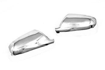 جديد الكروم الجانبية الباب مرآة تغطية ل بيجو 407