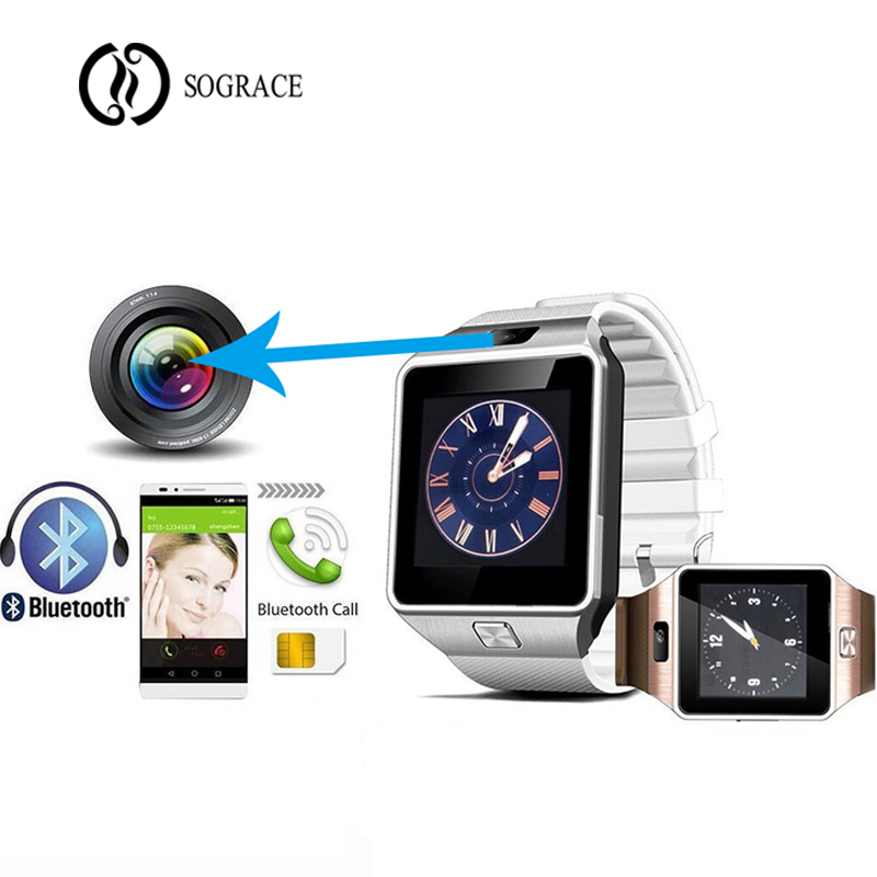 Fitness Watches Y1 Smart Watch Relogio Android Smartwatch Phone Call Sim Tf Camera Good Taste Watches Men's Watches