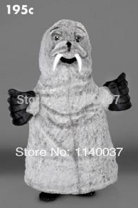 Mascotte costume cosplay gris morse mascotte Costume dessin animé personnage carnaval costume fantaisie Costume fête