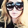 HBK Square Oversized Sunglasses Luxury Brand Designer Ladies Fashion Sun Glasses For Female Male Vintage Shades Gafas Oculos