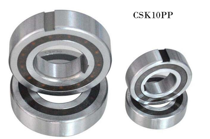 [2 PCS] CSK10PP (10x30x9 mm) One Way Clutch Bearing w/Dual Keyway Groove <font><b>6200RS</b></font> image