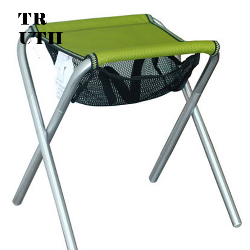 Outdoor aluminum collapsible portable small Mazar fishing stool leisure furniture chairs authentic CMARTE