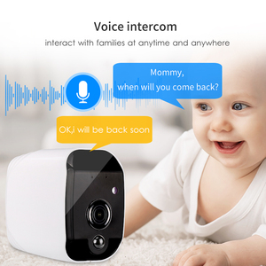 Image 3 - Marlboze Smart Battery 1080P HD wifi IP camera with Night vision Motion detect Audio suppor TF Card APP Alarm Push home camera
