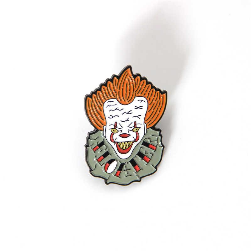 Suicide Squad Joker Bros Sementara Tato Stiker Alat Peraga Cosplay Tahan Air Unisex Halloween Stephen King Itu Aksesoris