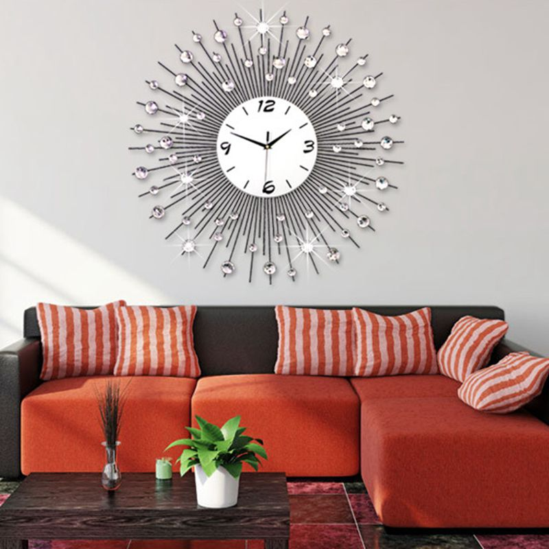 3D Big Wall Clock Modern Design Home Decor Wall Watches