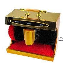 Электрический Очиститель обуви электрический прибор для чистки обуви женская мужская кожаная обувь Автоматическая Чистящая машина комплект обуви набор щеток HOTLE home