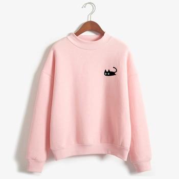 women's cat sweatshirts